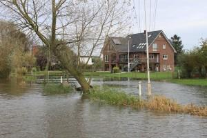 November normales Hochwasser